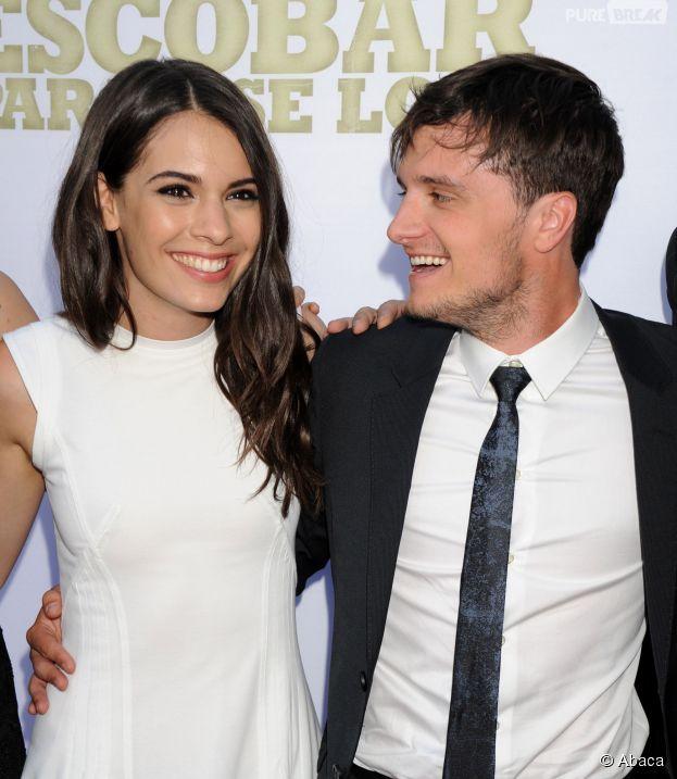 Josh Hutcherson et Claudia Traisac complices à l'avant-première hollywoodienne de Paradise Lost, le 22 juin 2015