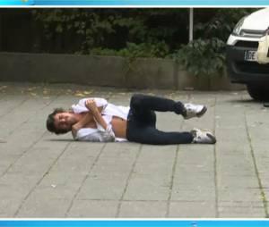 Betrand Chameroy blessé : la vidéo de sa chute dévoilée dans TPMP