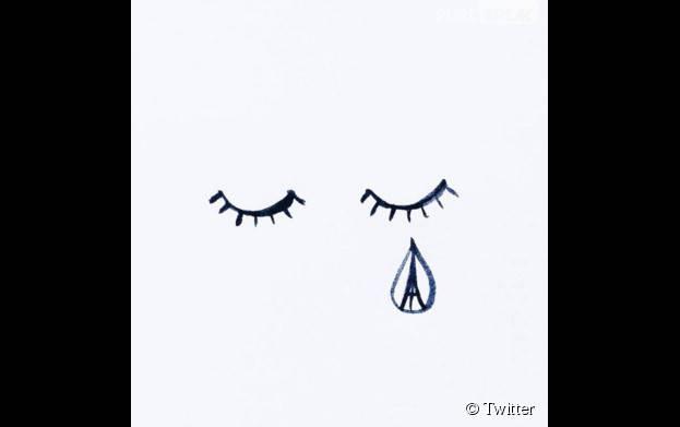 Attentats à Paris : l'hommage aux victimes en dessins