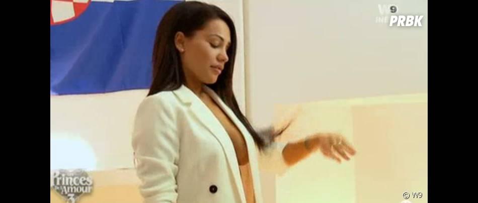 Milla (Les Princes de l'amour 3) : shooting sexy pour faire baver Nikola dans l'épisode du 18 novembre 2015, sur W9