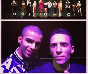 Brahim Zaibat et son spectacle Rock It All à l'Olympia à Paris, le 1 décembre 2015