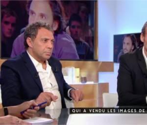 Le Petit Journal : le patron du Casa Nostra réagit à la polémique de la vente des images des attentats de Paris sur le plateau de C à Vous, le 1er décembre 2015 sur France 5