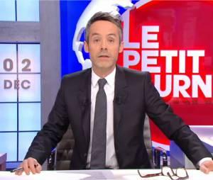 Le Petit Journal : Yann Barthès répond aux menaces d'assignation en justice du patron du Casa Nostra et de son avocat, le 2 décembre 2015 sur Canal+