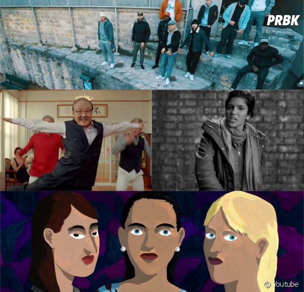 Nekfeu & Phénomène Bizness, Feu! Chatterton, Psy, Soom T et Mickey 3D dans les meilleurs clips de la semaine, décembre 2015