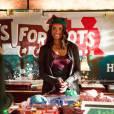 The Vampire Diaries saison 7, épisode 9 : Bonnie (Kat Graham) sur une photo