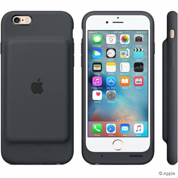 Smart Battery Case, la première coque-batterie officielle pour iPhone 6 et 6S