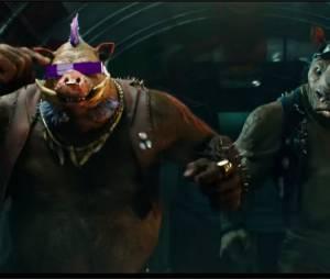 Ninja Turles 2 :Bebop et Rocksteady font leur entrée