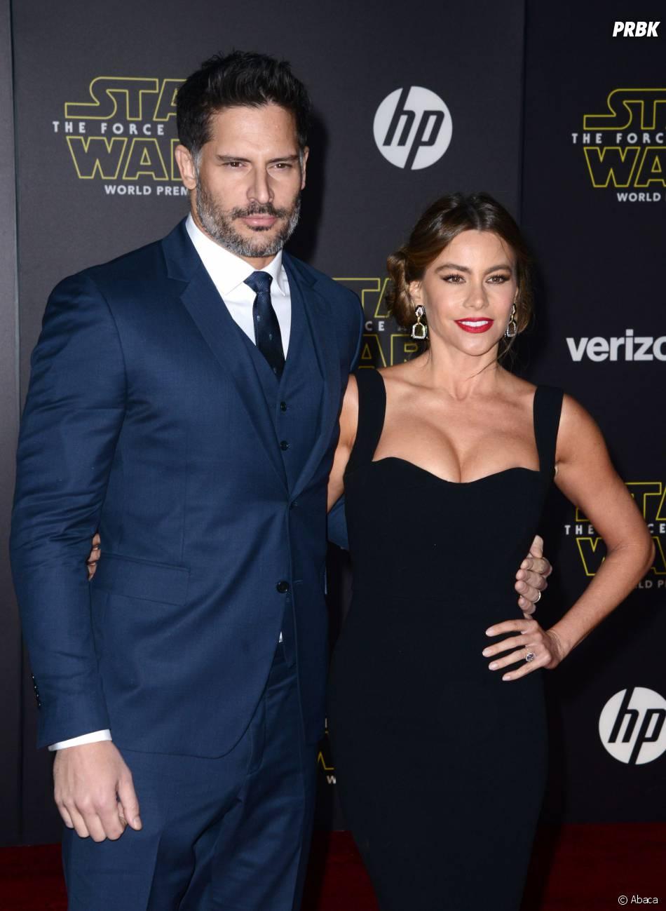 Sofia Vergara et Joe Manganiello à l'avant-première de Star Wars 7, le 14 décembre 2015 à Los Angeles