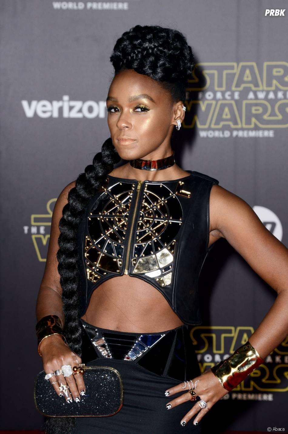 Janelle Monae à l'avant-première de Star Wars 7, le 14 décembre 2015 à Los Angeles