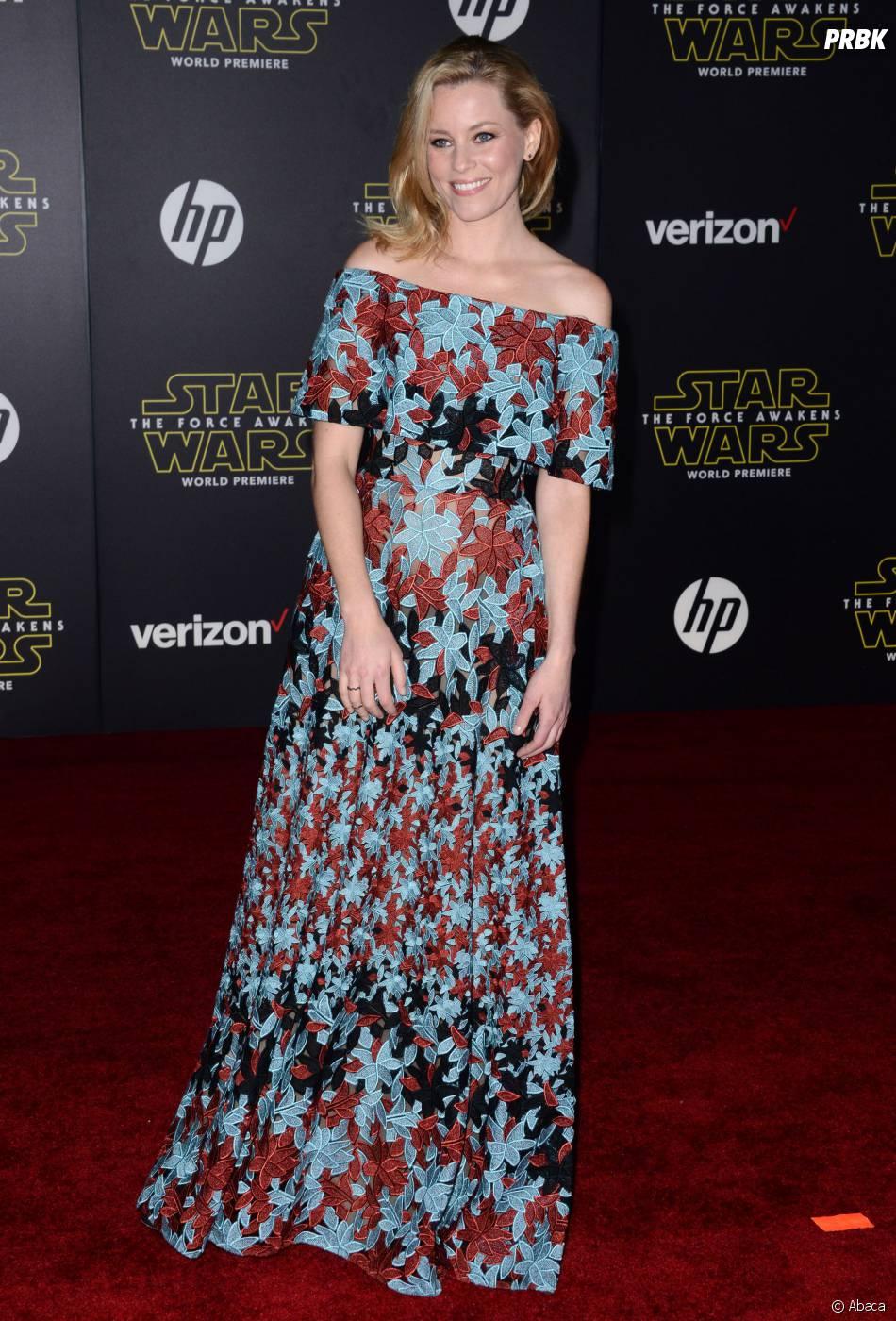 Elizabeth Banks à l'avant-première de Star Wars 7, le 14 décembre 2015 à Los Angeles