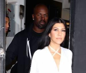 Kourtney Kardashian, comme c'est soeur, est très peu pudique