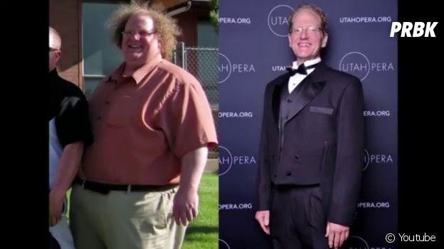 Jared Mollenkopf pose après son régime