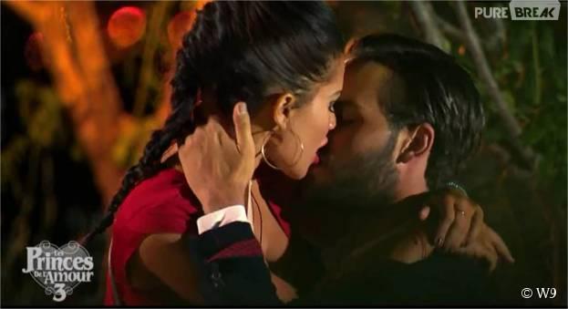 Milla et Nikola (Les Princes de l'amour 3) dans l'épisode du 17 novembre 2015 sur W9