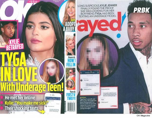 Kylie Jenner trompée : Tyga amoureux d'une adolescente mineure selon le magazine OK!