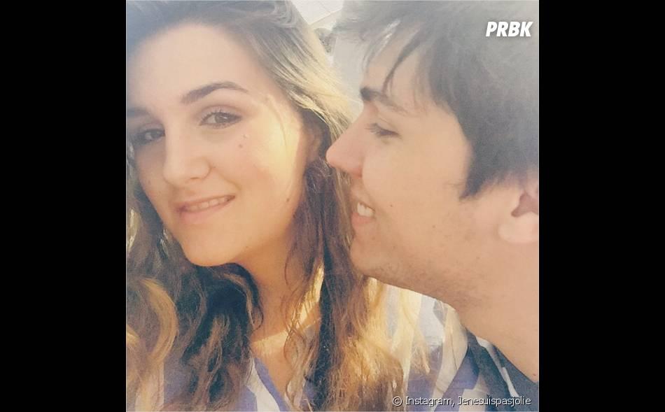 Jenesuispasjolie et son chéri Samuel sur une photo Instagram
