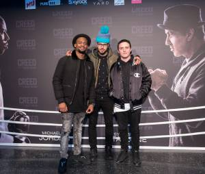 Le Woop Gang à l'avant-première de Creed à Paris ce jeudi 7 janvier 2016