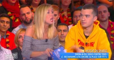 """Enora Malagré démonte Christophe Dechavanne dans TPMP : """"Il est ringard, il est terminé"""""""