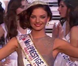 Emilie Secret, gagnante de Miss Prestige National 2016, le 16 janvier
