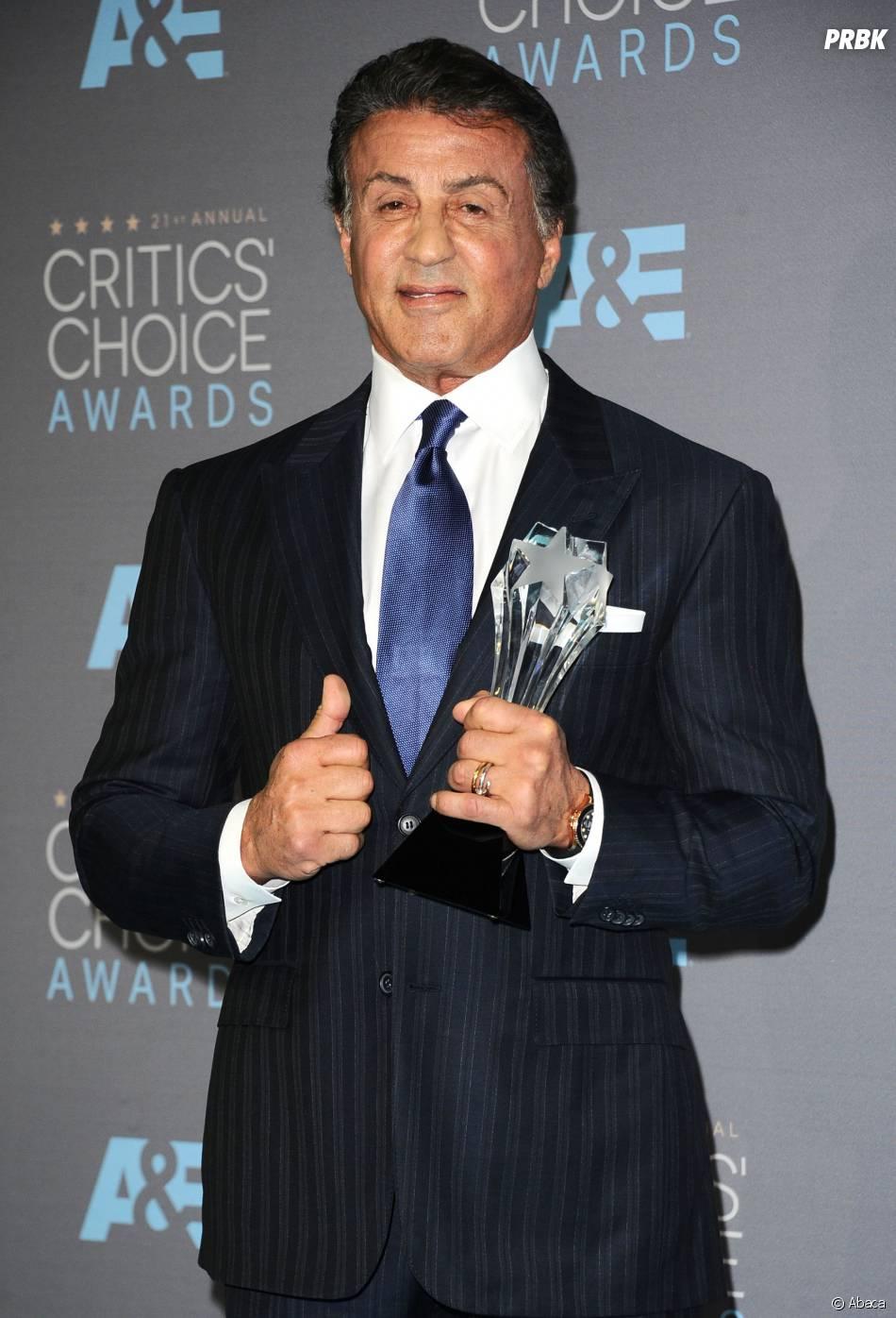 Critics Choice Awards du 17 janvier 2016 : Sylvester Stallone