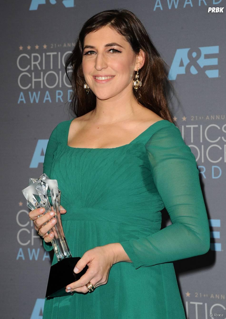 Critics Choice Awards du 17 janvier 2016 : Mayim Bialik