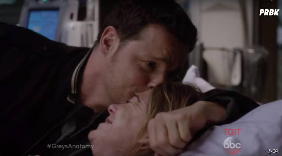 Grey's Anatomy saison 12, épisode 9 : Alex et Meredith très proches