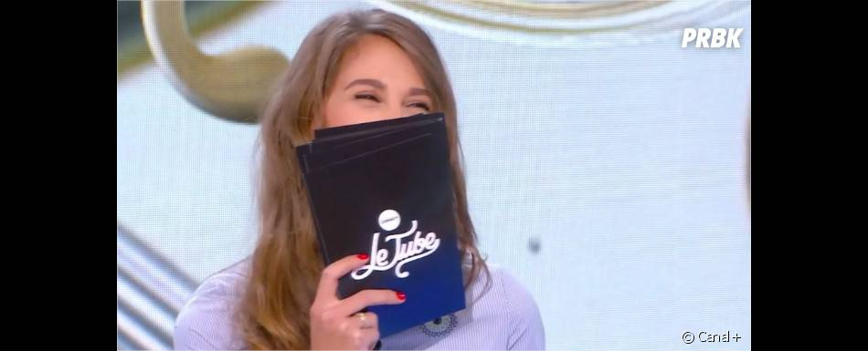 Camille Combal chez Ophélie Meunier : fou rire dans Le Tube sur Canal+ le 23 janvier 2016