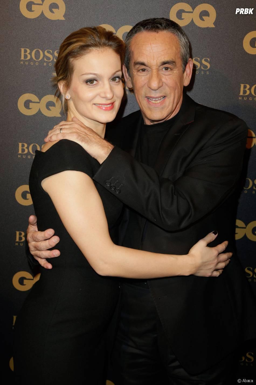 Thierry Ardisson et Audrey Crespo-Mara aux GQ Awards à Paris le 25 janvier 2016