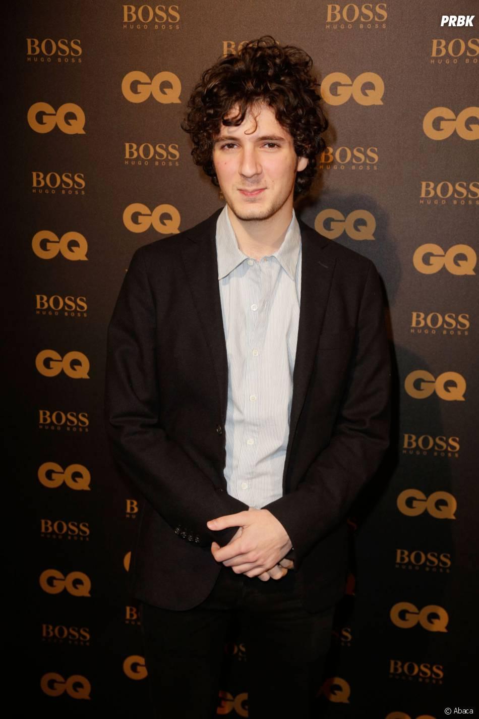 Vincent Lacoste aux GQ Awards à Paris le 25 janvier 2016