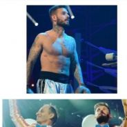 M. Pokora torse nu, Zlatan VS Chabal... les photos des coulisses des concerts des Enfoirés 2016