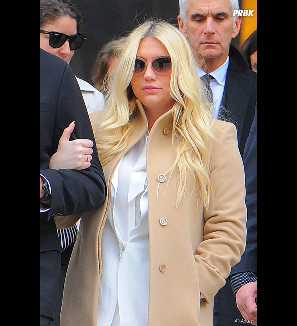 Kesha déprimée après son procès contre Dr Luke, le 19 février 2016