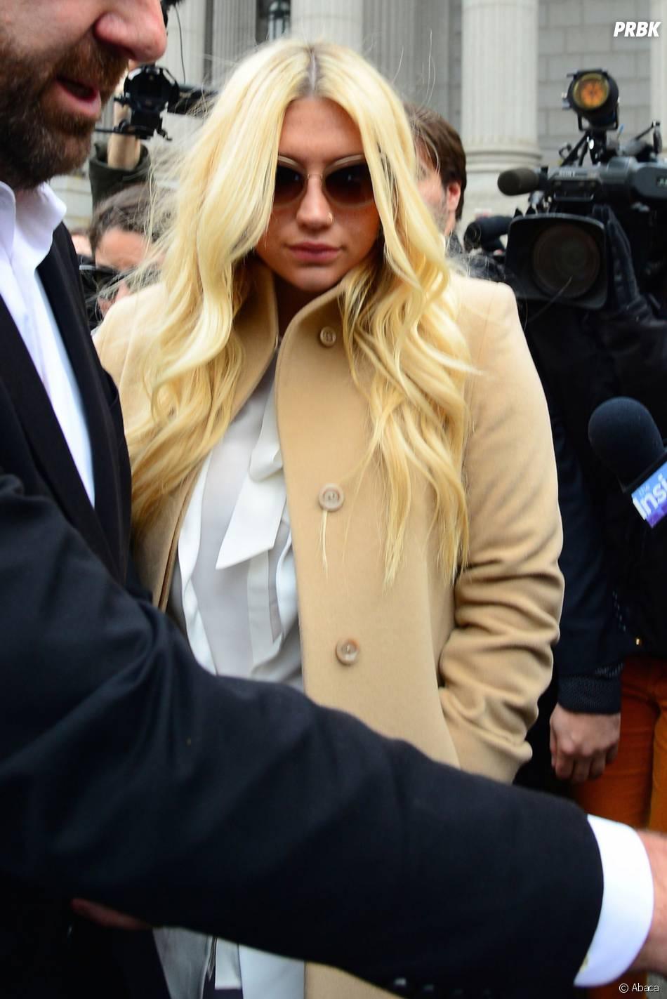 Kesha sort de son procès contre Dr Luke, le 19 février 2016