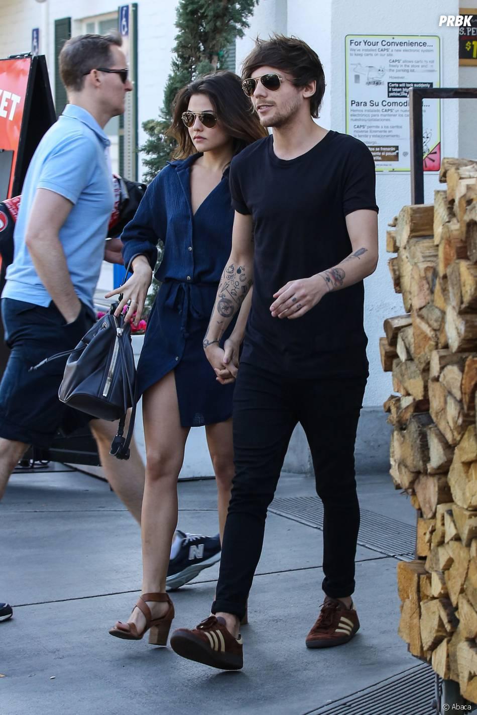 Louis Tomlinson et Danielle Campbell amoureux dans les rues de Los Angeles le 20 février 2016