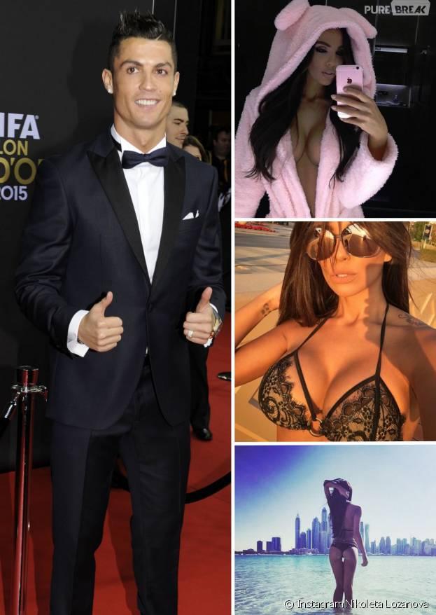Cristiano Ronaldo en couple avec Nikoleta Lozanova