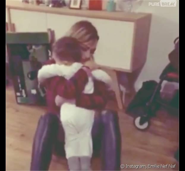 Emilie Nef Naf : une vidéo trop chou avec Menzo postée sur Instagram