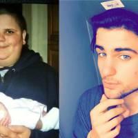 Il perd 70 kilos en 1 an : la transformation bluffante d'un jeune américain