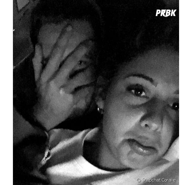 Coralie (Les Anges 8) et Raphaël Pépin en couple sur des photos postées sur Snapchat