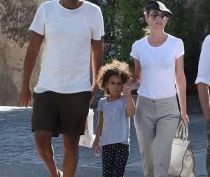 Ellen Pompeo (Grey's Anatomy), Chris Ivery et leur fille Stella