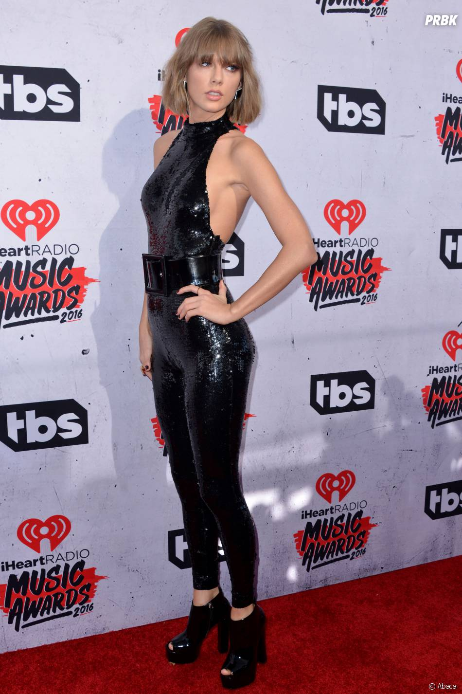 Taylor Swift aux iHeartRadio Music Awards 2016 le 3 avril à Los Angeles