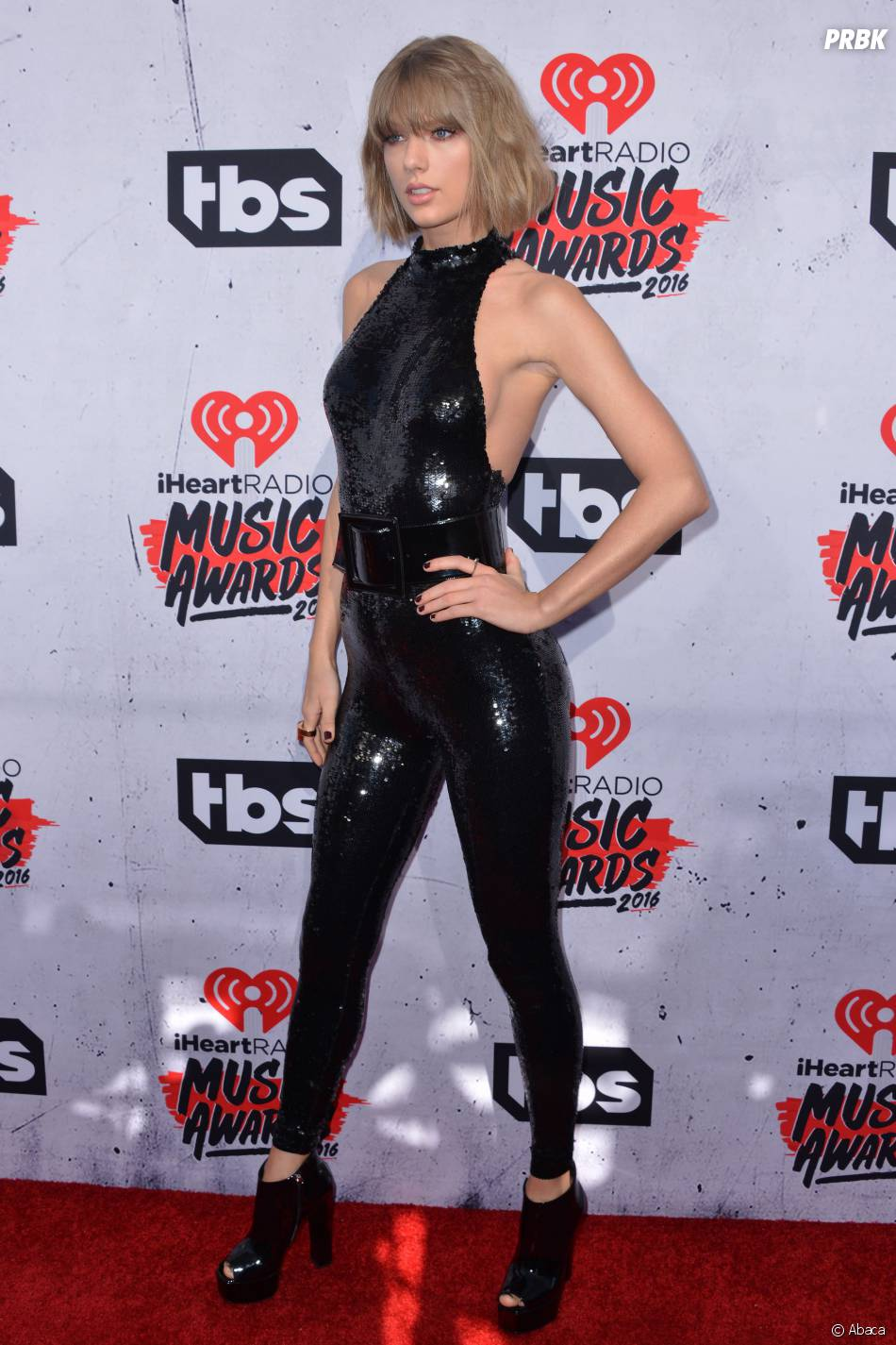 Taylor Swift sexy aux iHeartRadio Music Awards 2016 le 3 avril à Los Angeles