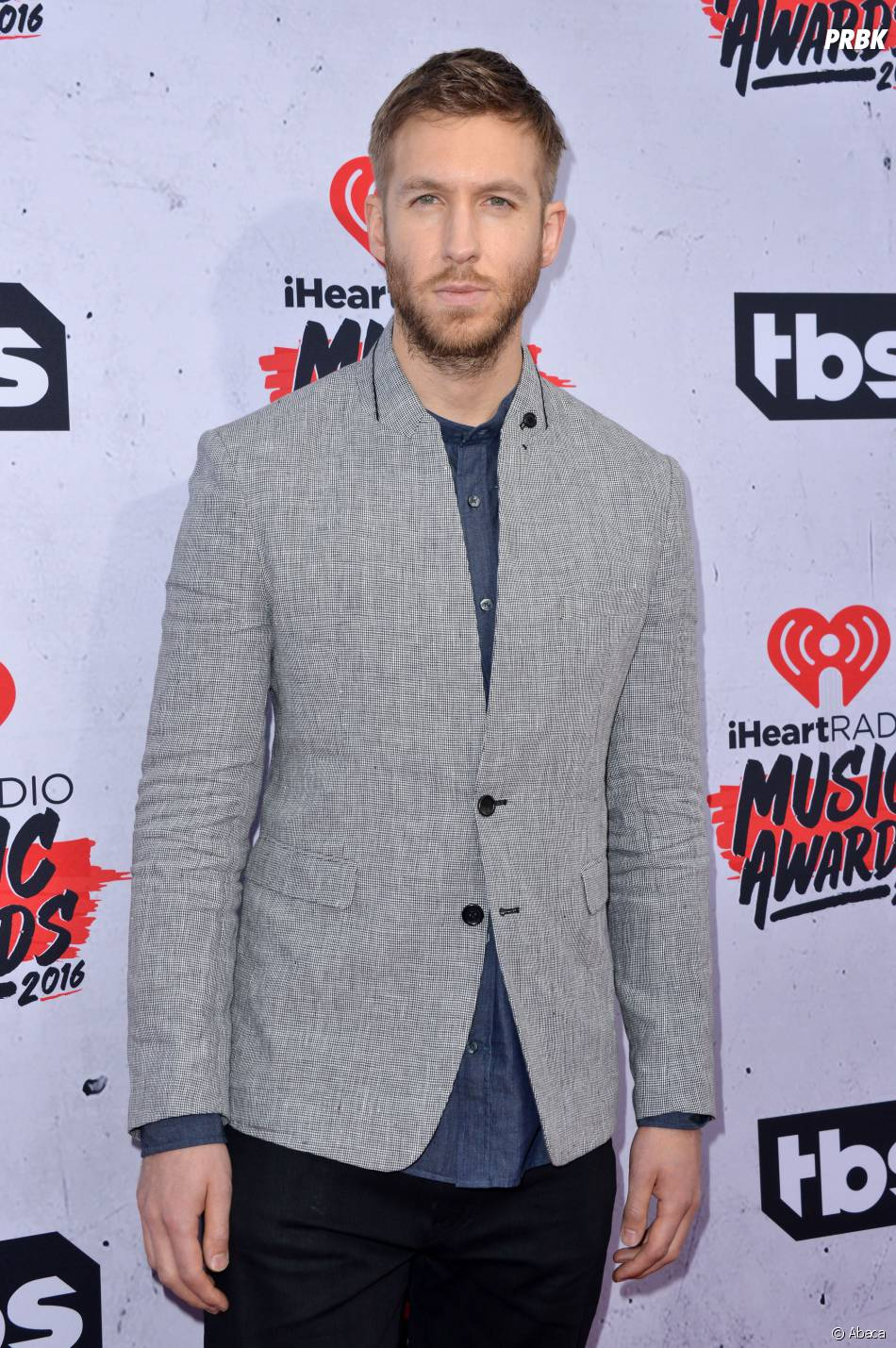 Calvin Harris aux iHeartRadio Music Awards 2016 le 3 avril à Los Angeles