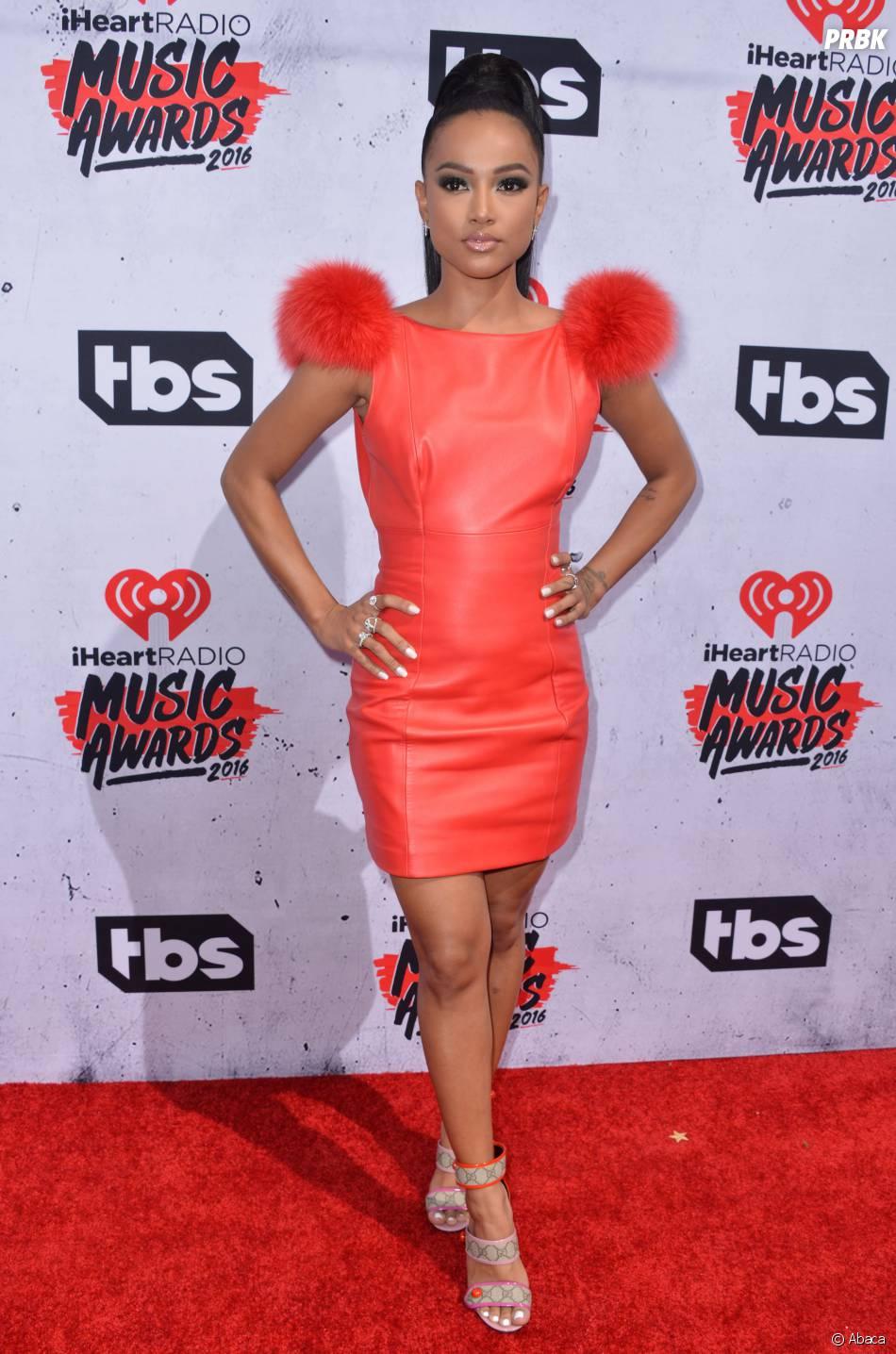 Karrueche Tran aux iHeartRadio Music Awards 2016 le 3 avril à Los Angeles