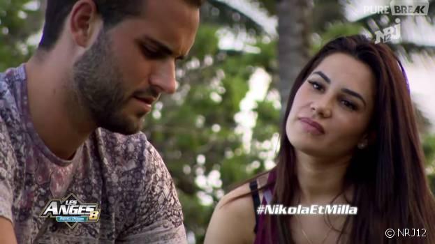 L'heure des explications entre Nikola et Milla Jasmine (Les Anges 8) a sonné