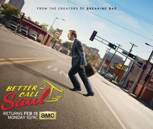 Better Call Saul saison 2 : l'affiche avec Bob Odenkirk