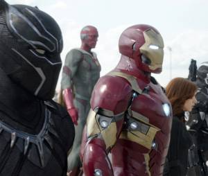 Captain America Civil War : la team Iron Man