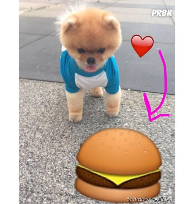 Jiffpom possède même son compte Snapchat.