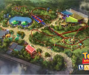 Disneyland dévoile les images de Toy Story, son nouveau parc