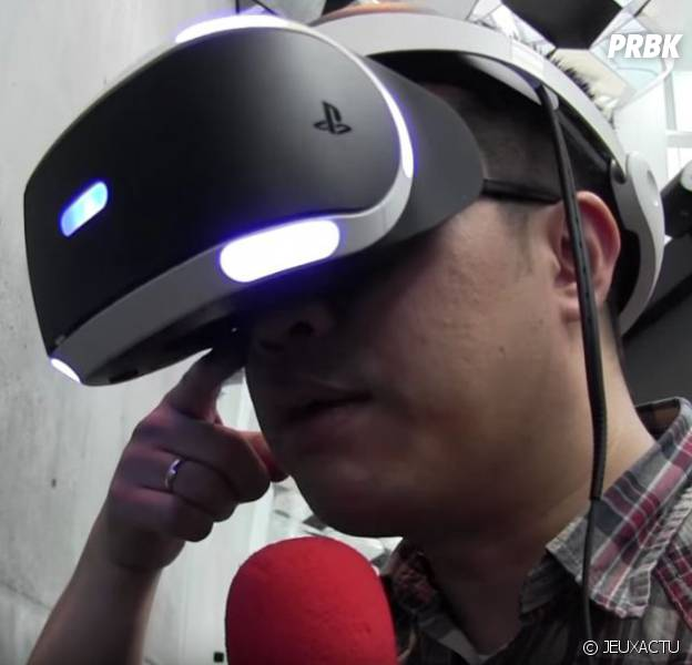 Test du PlayStation VR lors de la EVE Fanfest 2016
