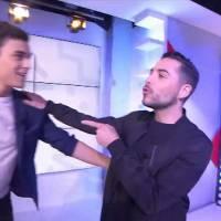 Martial (Mad Mag) remis en place par Alban Bartoli avec une allusion à Ayem Nour
