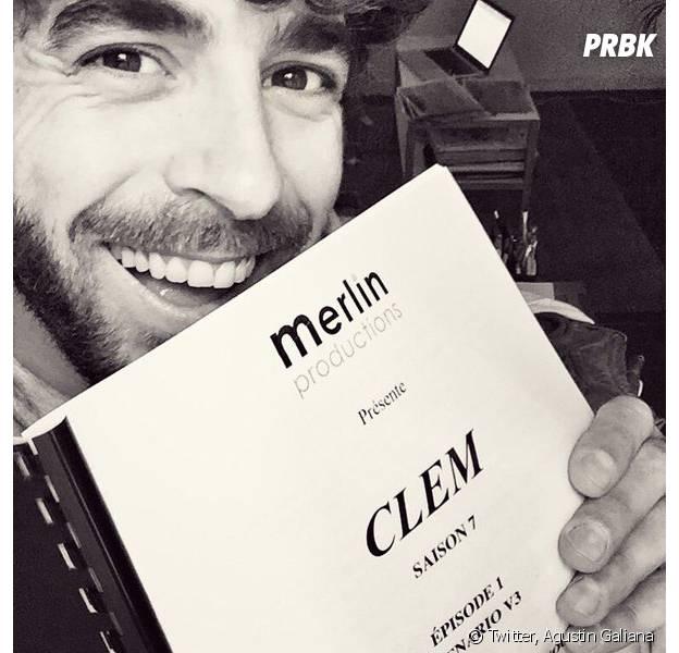 Clem saison 7 : Agustin Galiana officialise son retour sur Twitter le 10 mai 2016