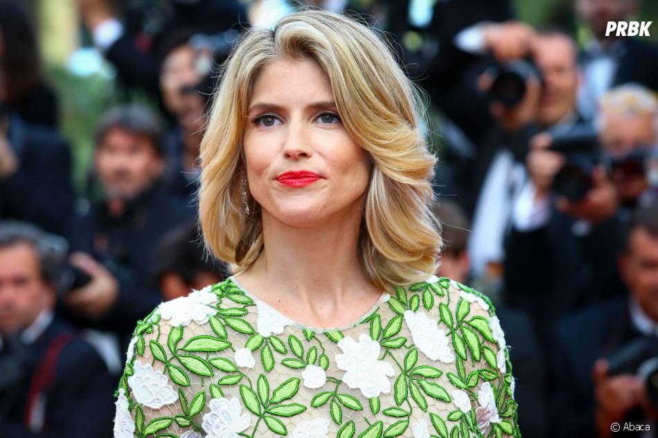 Alice Taglioni sur le tapis rouge de la soirée d'ouverture du Festival de Cannes le 11 mai 2016